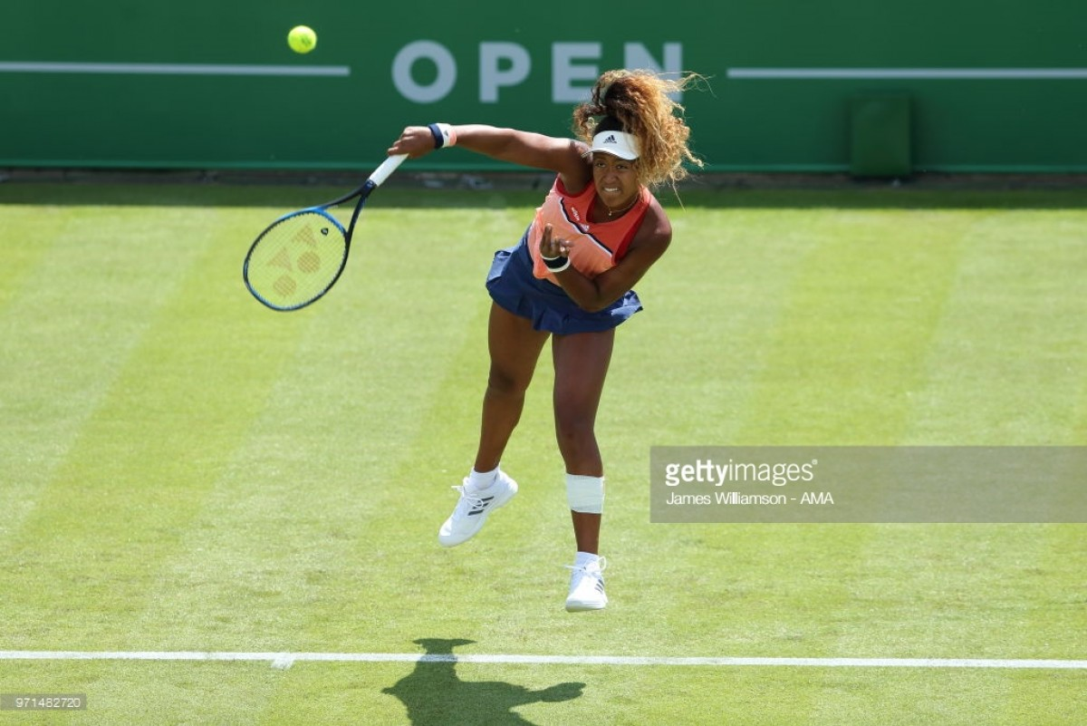 Nature Valley Open Nottingham 2018: Osaka through to second round after comeback against Vickery