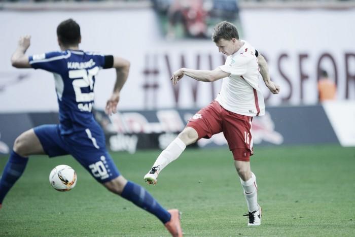RB Leipzig derrota Karlsruher e garante acesso à Bundesliga