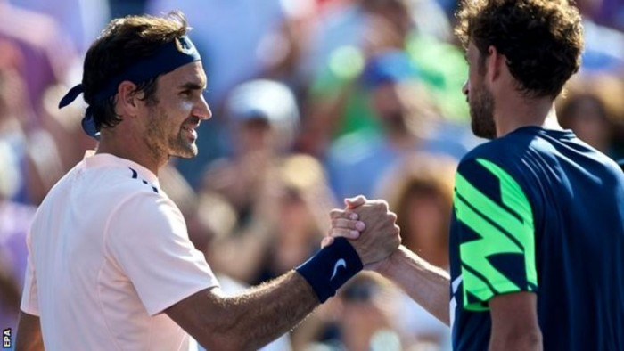 Roger Federer vence Robin Haase pelo ATP 500 de Rotterdam (2-1)