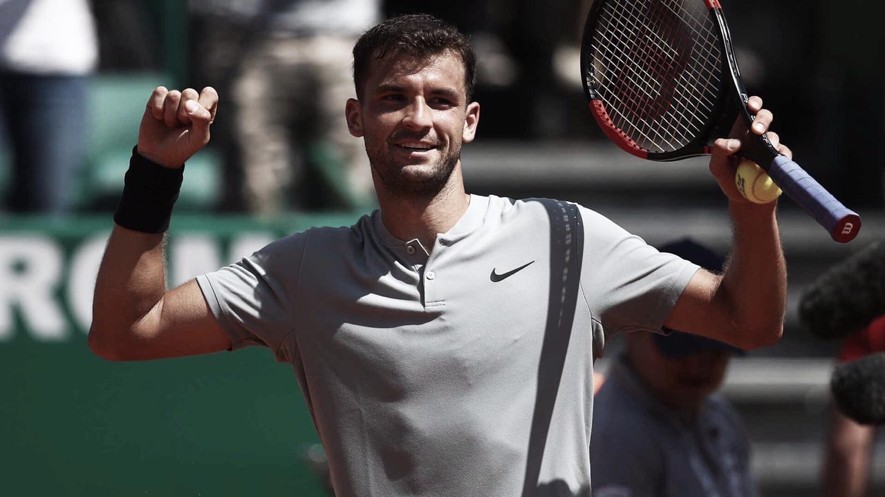 Dimitrov estreia com vitória sobre Berrettini e vai à segunda rodada do Masters 1000 de Monte Carlo