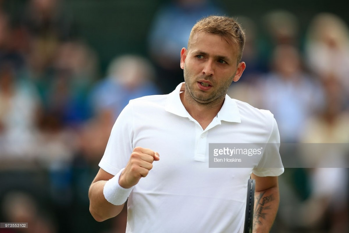 Nature Valley Open Nottingham 2018: Evans through to semi-final with win over Stakhovsky