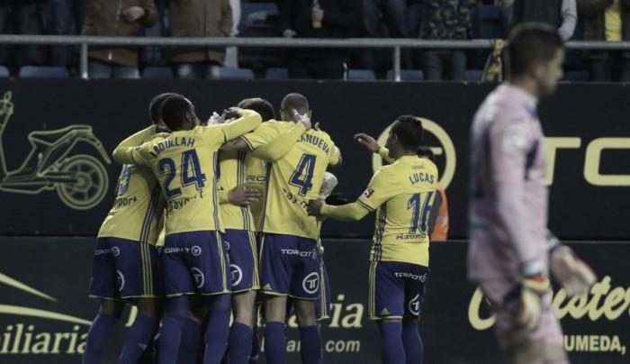 Cádiz CF - Granada CF: puntuaciones del Cádiz en la jornada 20 de LaLiga 1 2 3