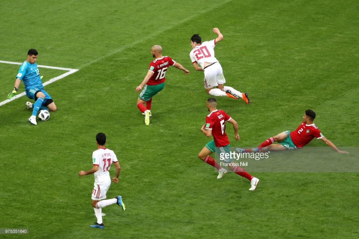 As it happened: Iran steal vital win at the death in Group B