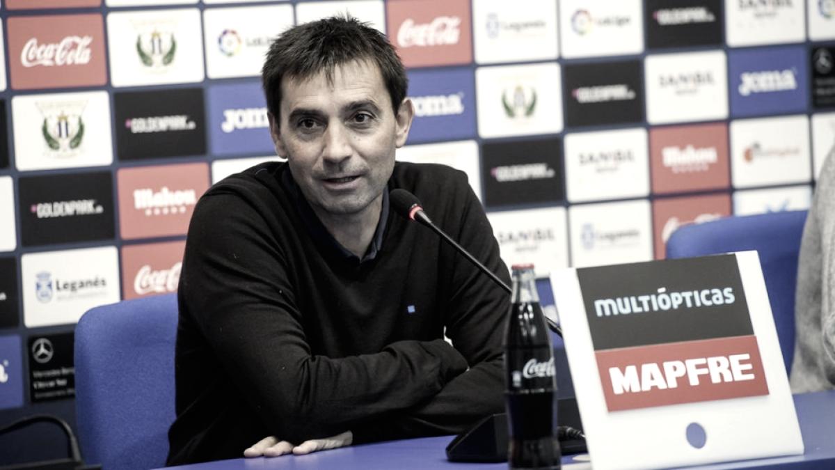 """Asier Garitano: """"Tenemos que mejorar las sensaciones"""""""