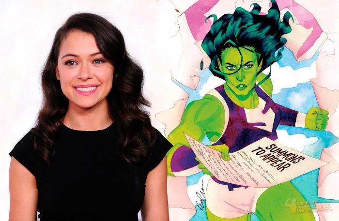 Tatiana Maslany será 'She-Hulk' en la nueva serie para Disney+