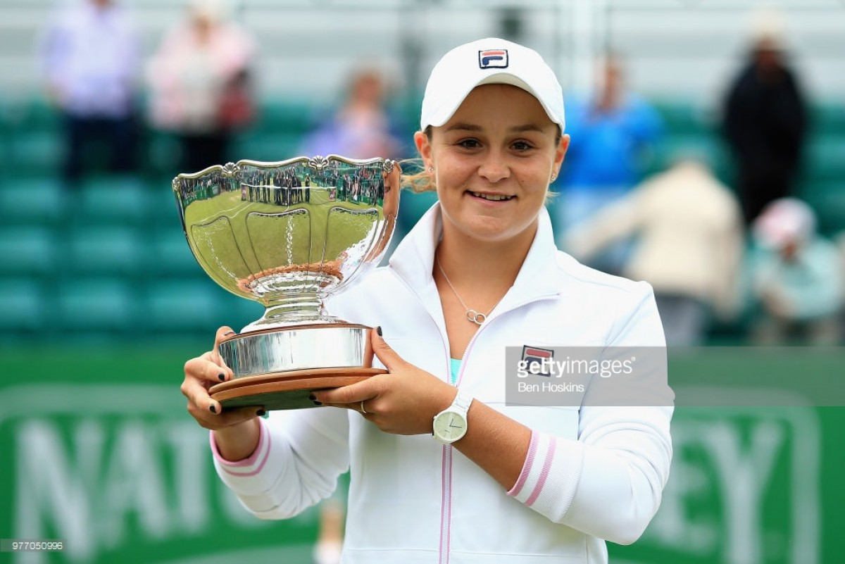 Nature Valley Open Nottingham 2018: Barty condemns Konta to another final defeat in three set thriller