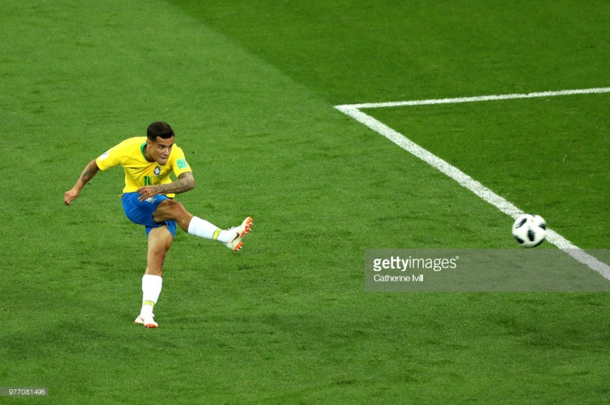 Philippe Coutinho Nets Stunner But Brazil Held By Solid Switzerland (Photos & Video)