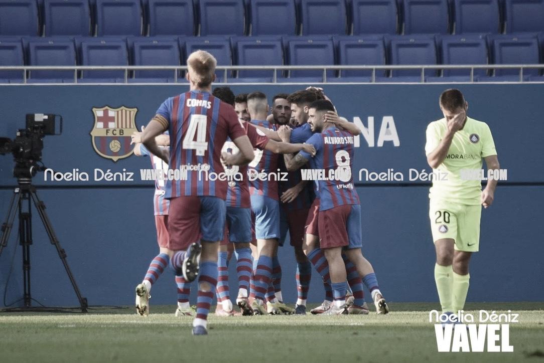 Análisis post: Un Barça B efectivo logra la victoria ante el FC Andorra (2-1)