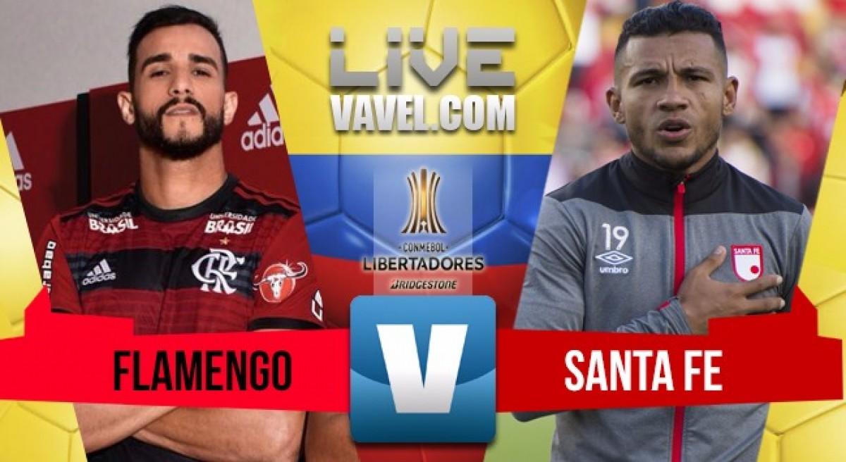 Santa Fe logra un valioso empate en el Maracaná ante Flamengo