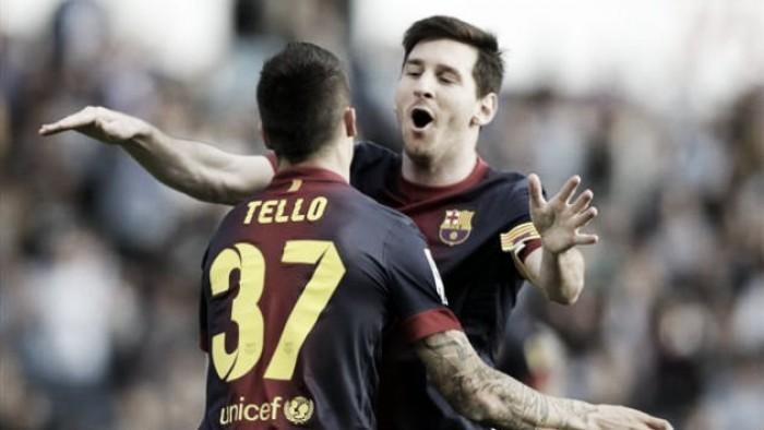 Saints target Barcelona forward Cristian Tello