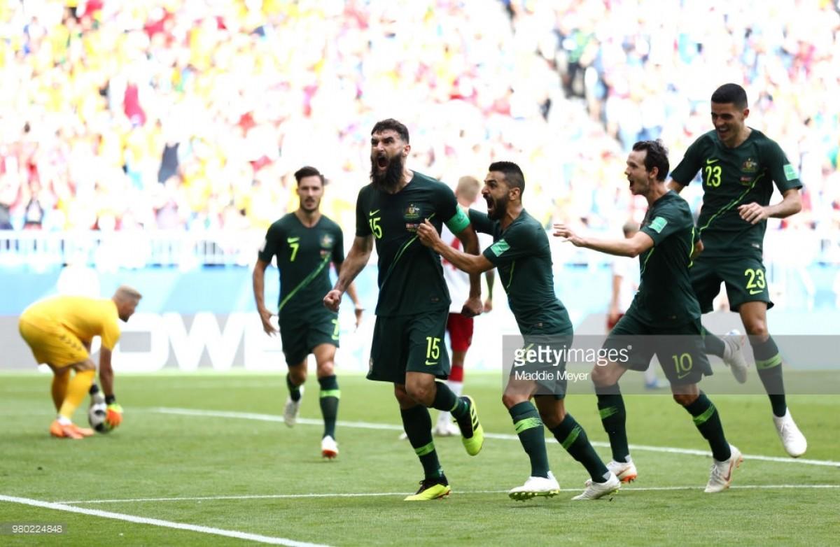 Denmark 1-1 Australia: Jedinak earns deserved point for Socceroos as Danes held