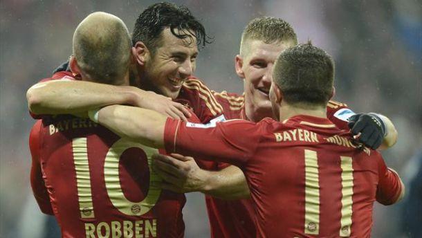 Dominio Bayern, Amburgo spazzato via