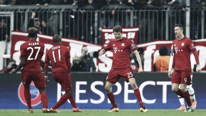 Bayern Munich (6) 4-2 (4) Juventus: Scrappily done as Pep's men emerge victorious in thriller