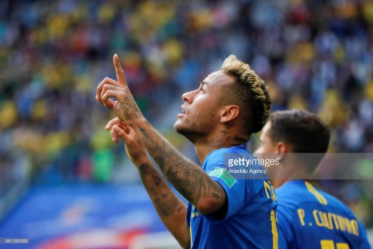 Brazil 2-0 Costa Rica: Late goals earn Brazilians win in dramatic game