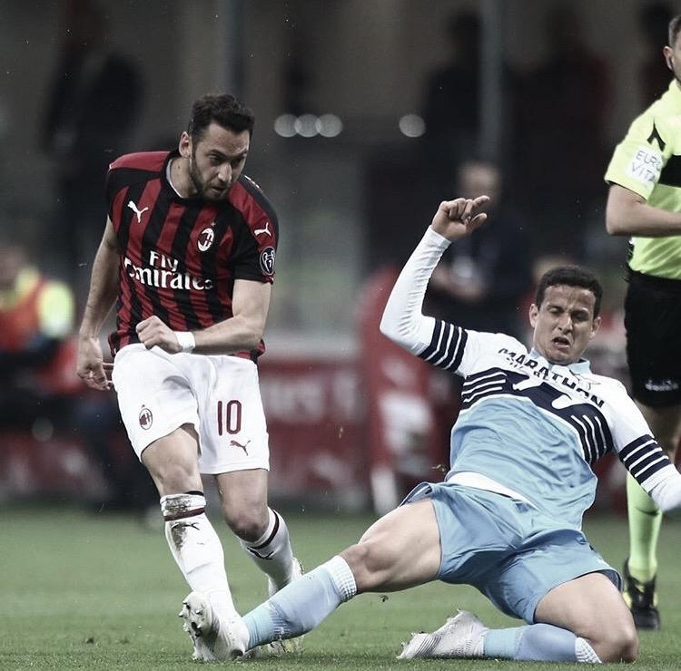 Com gol no fim, Milan vence Lazio e segue na busca pela classificação da Champions