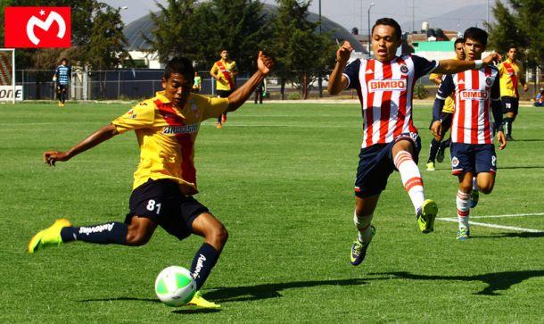 Monarcas Sub-17 vence a Chivas