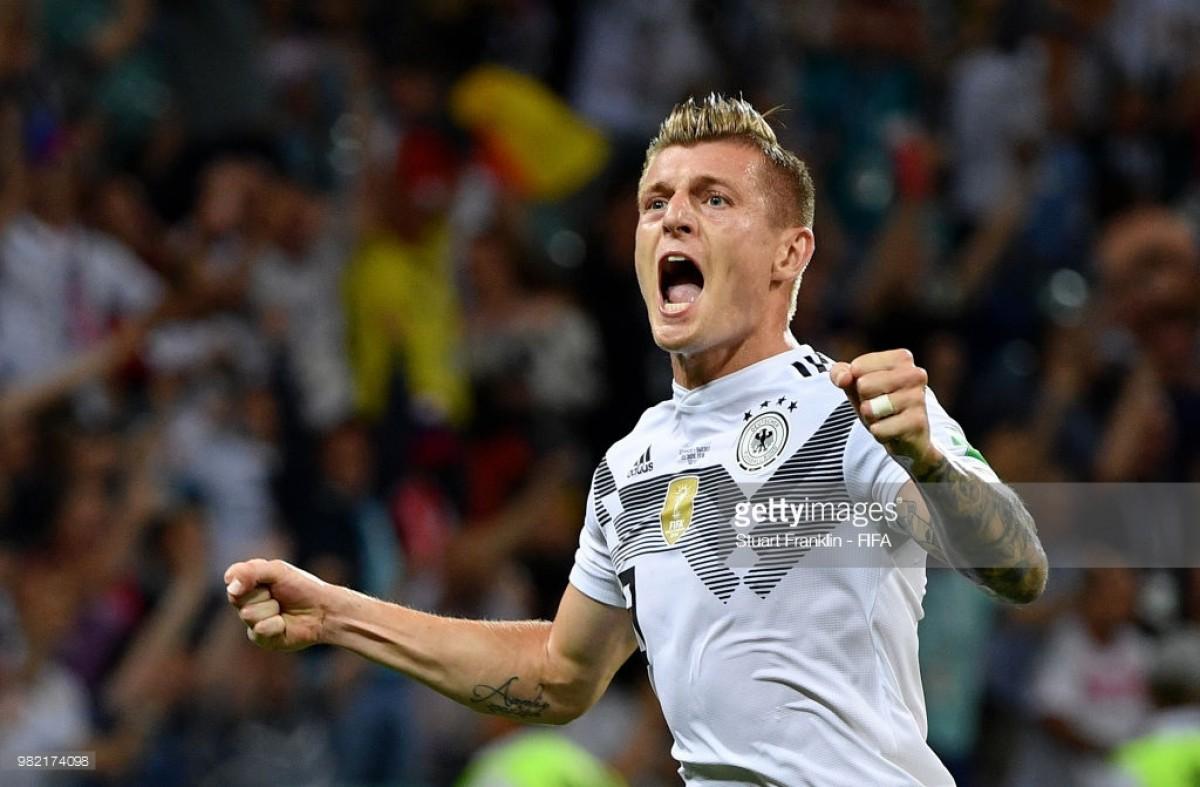 GRUPO F: 10 contra 11 e no fim também ganha a Alemanha
