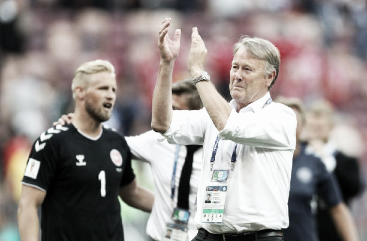"""Age Hareide explica cautela da Dinamarca diante da França: """"Precisávamos de um ponto"""""""
