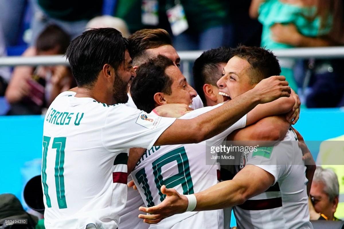 GRUPO F: México bate Coreia (2-1) e fica à porta dos Oitavos-de-Final
