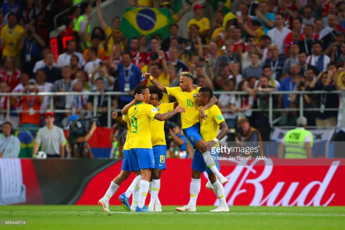 Serbia 0-2 Brazil: Seleção progress to last-16 with victory over Serbia