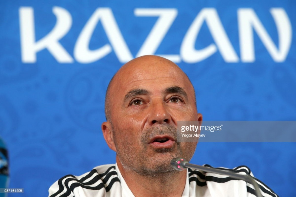"""Jorge Sampaoli describes """"painful defeat"""" at World Cup after Argentina fall to France"""