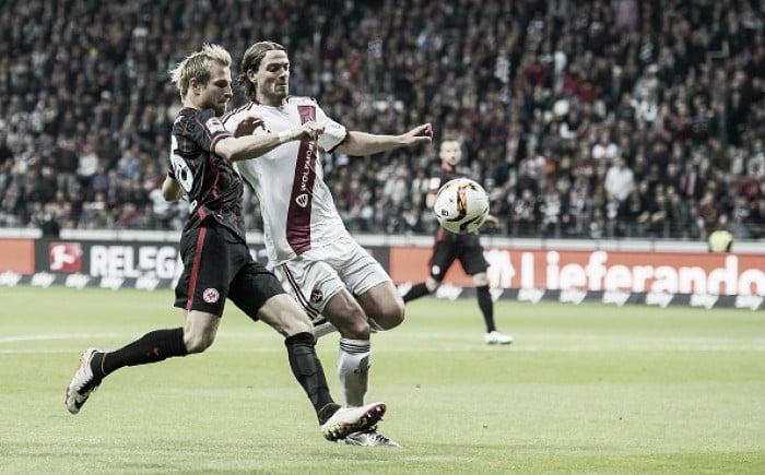 Nuremberg recebe Eintracht Frankfurt pela volta dos playoffs da Bundesliga