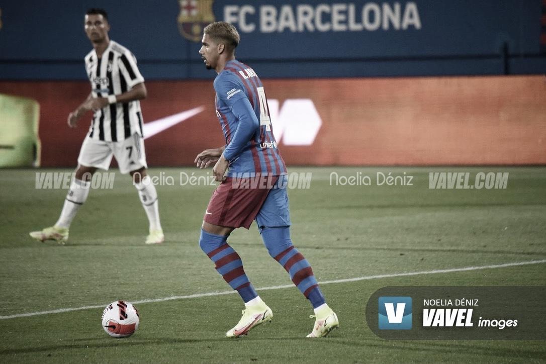 """Ronald Araújo: """"Somos el Barça y aspiramos a todo"""""""