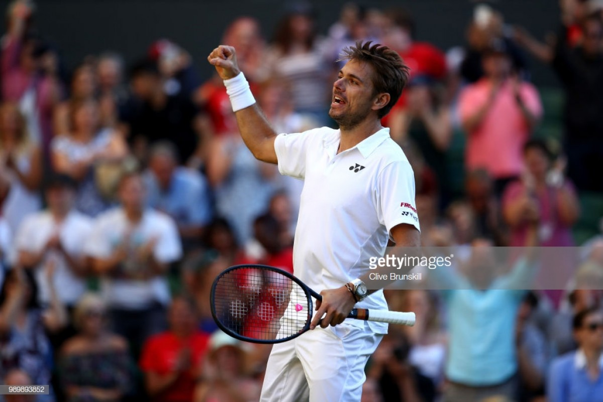 Wimbledon 2018: Stan Wawrinka produces classy performance to knock out Grigor Dimitrov