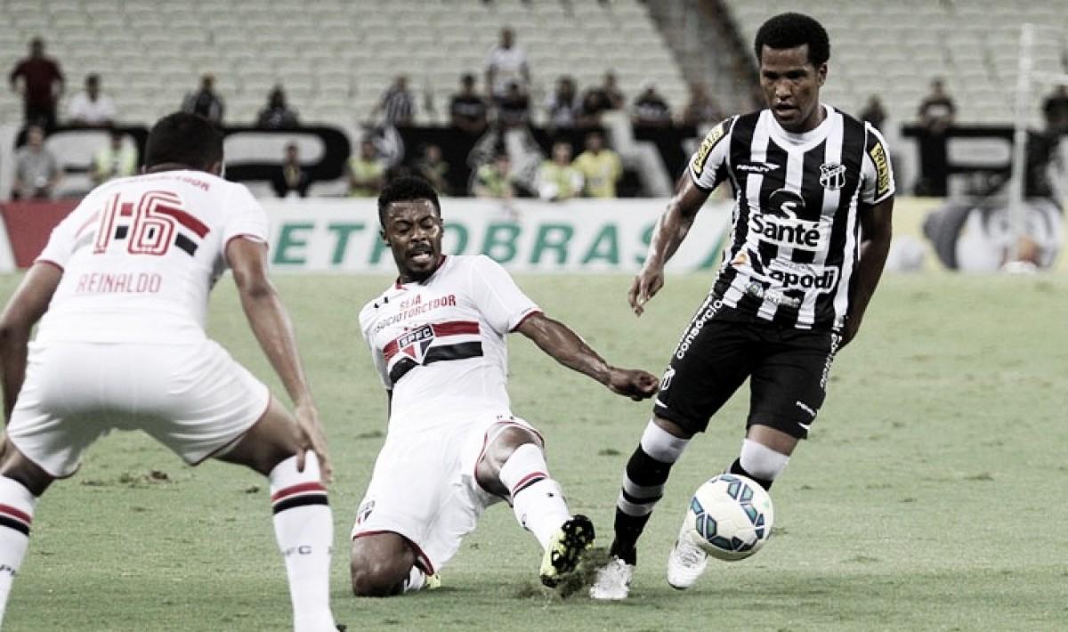 Ceará recebe São Paulo no Castelão pela segunda rodada do Brasileiro