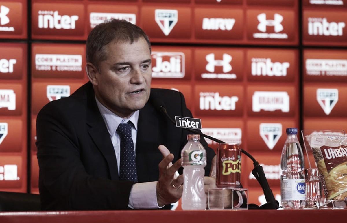 Com contrato até dezembro, Aguirre promete São Paulo com 'garra e determinação'