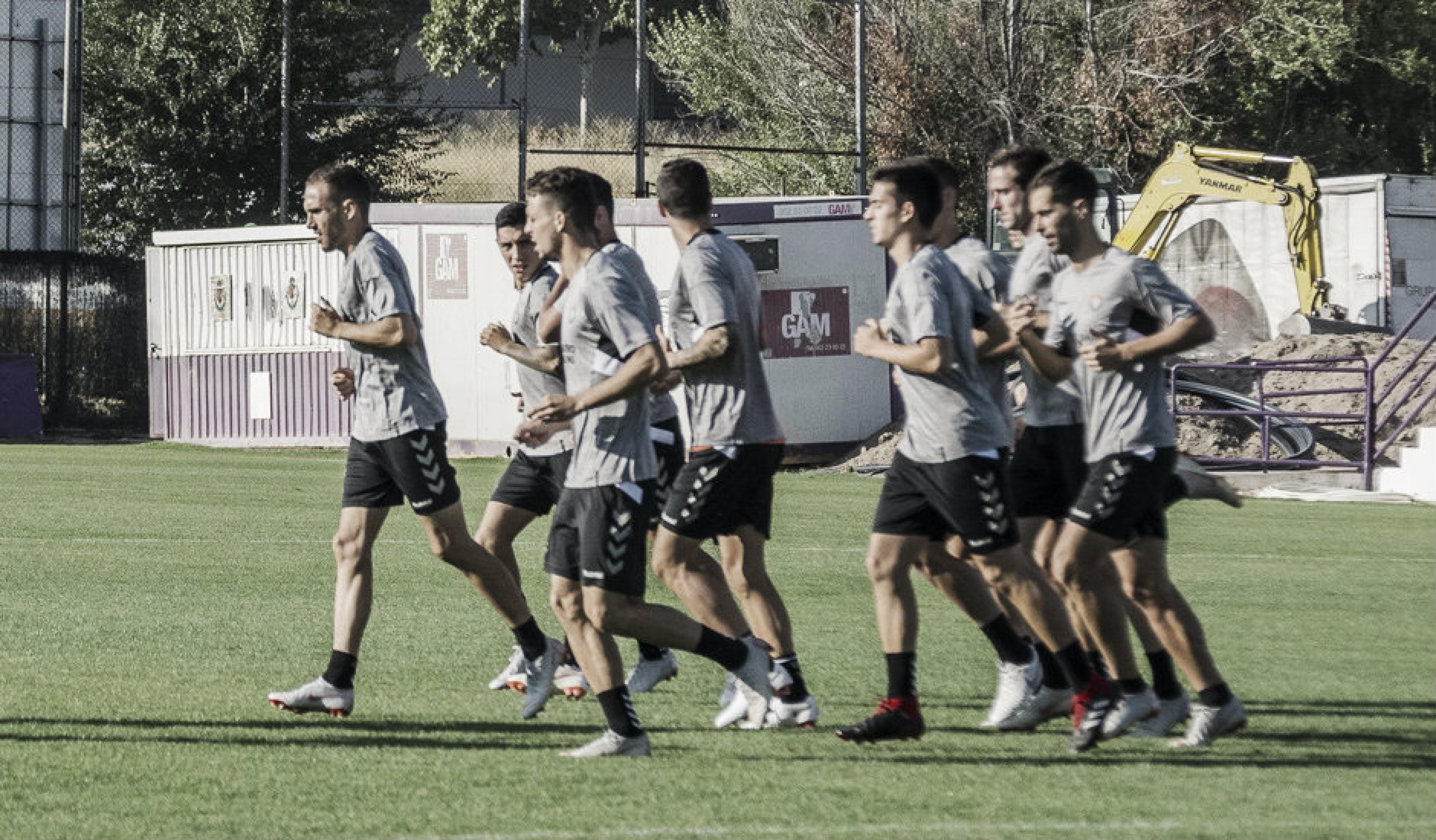 Agenda semanal del Real Valladolid para preparar la visita a Balaídos