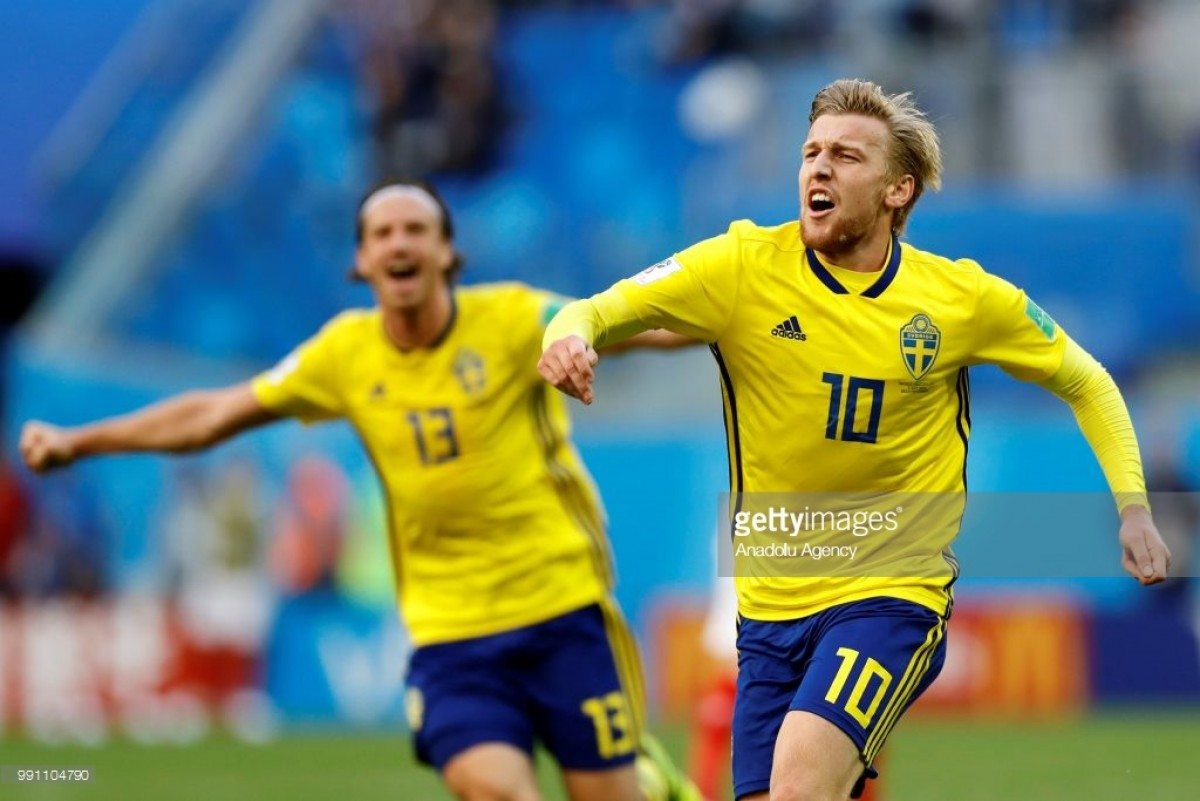 Sweden player ratings as Emil Forsberg gives them last 16 victory over Switzerland