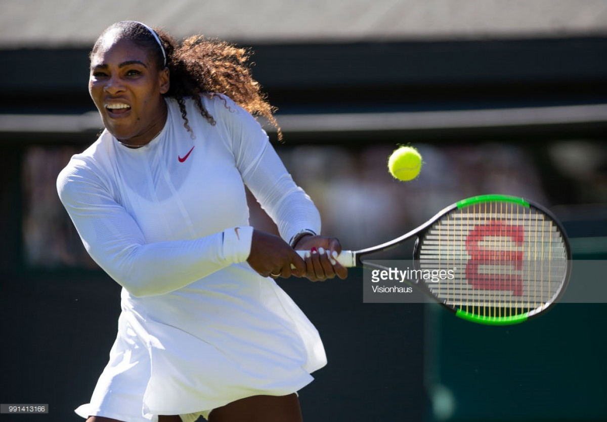 Wimbledon 2018: Serena Williams has 'high expectations' after opening round victory
