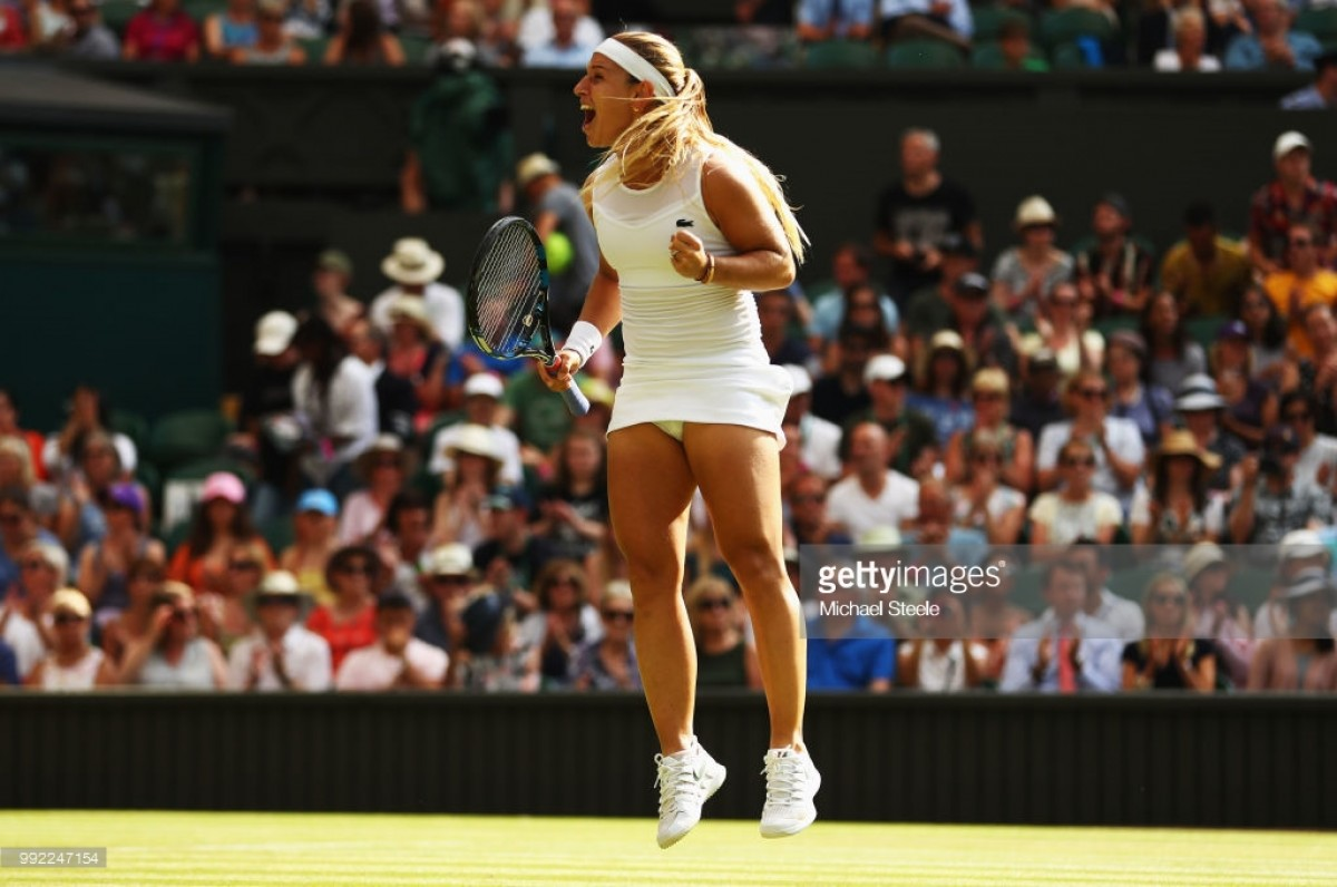 Wimbledon 2018: Konta crashes out to Cibulkova in straight sets
