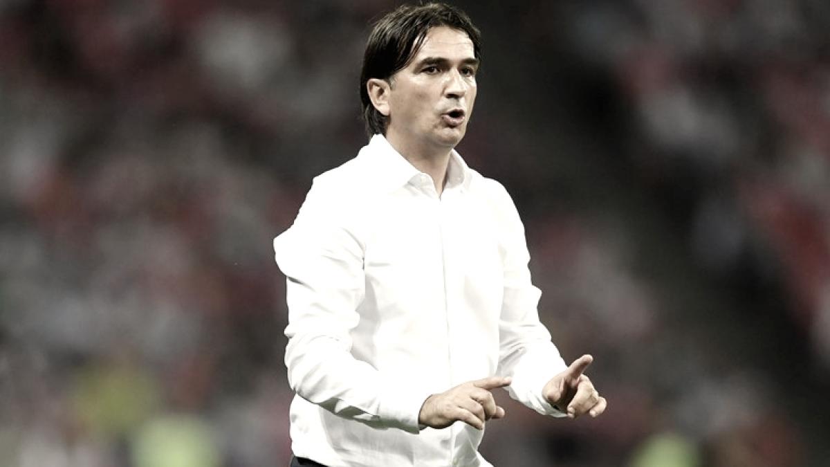 """Zlatko Dalic: """"Felicitaciones a los muchachos por la lucha, el esfuerzo y todo lo que hicieron por Croacia"""""""