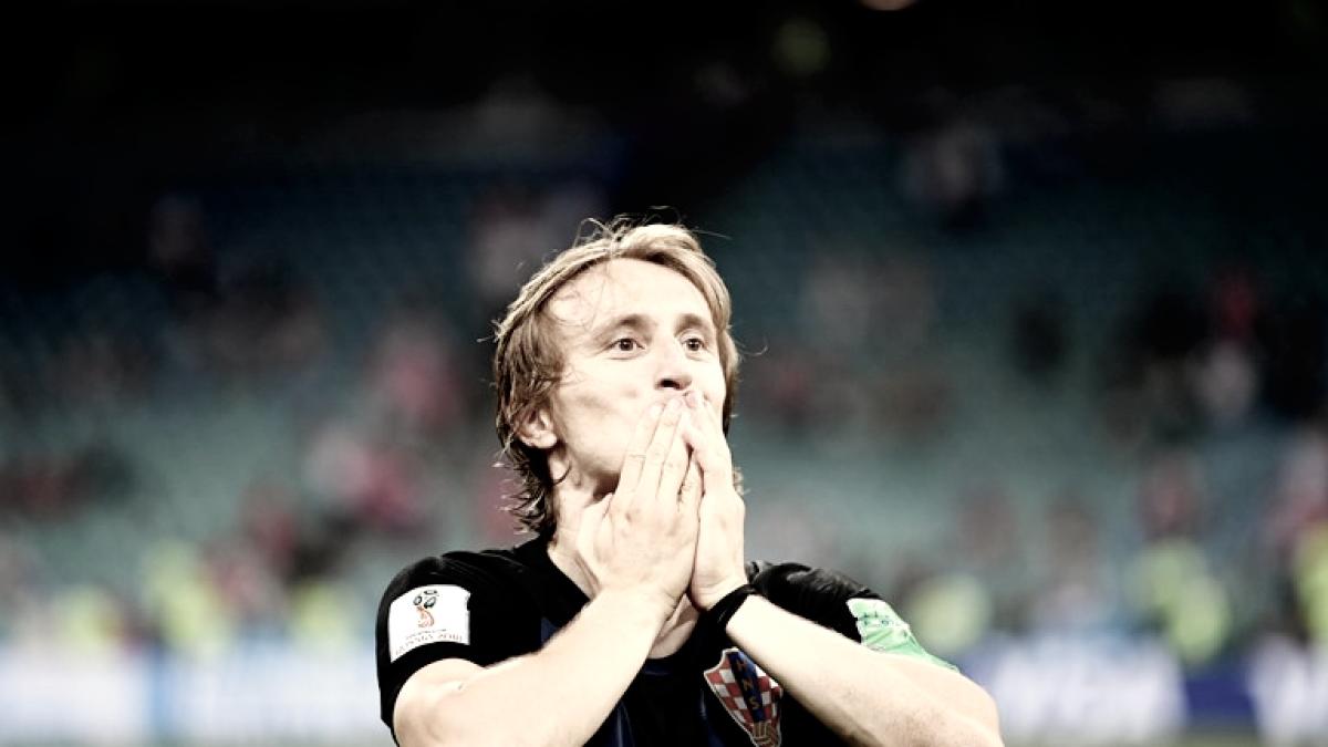 """Luka Modric:""""No queremos parar, tenemos mucha confianza y queremos dar un paso más para estar en la final"""""""