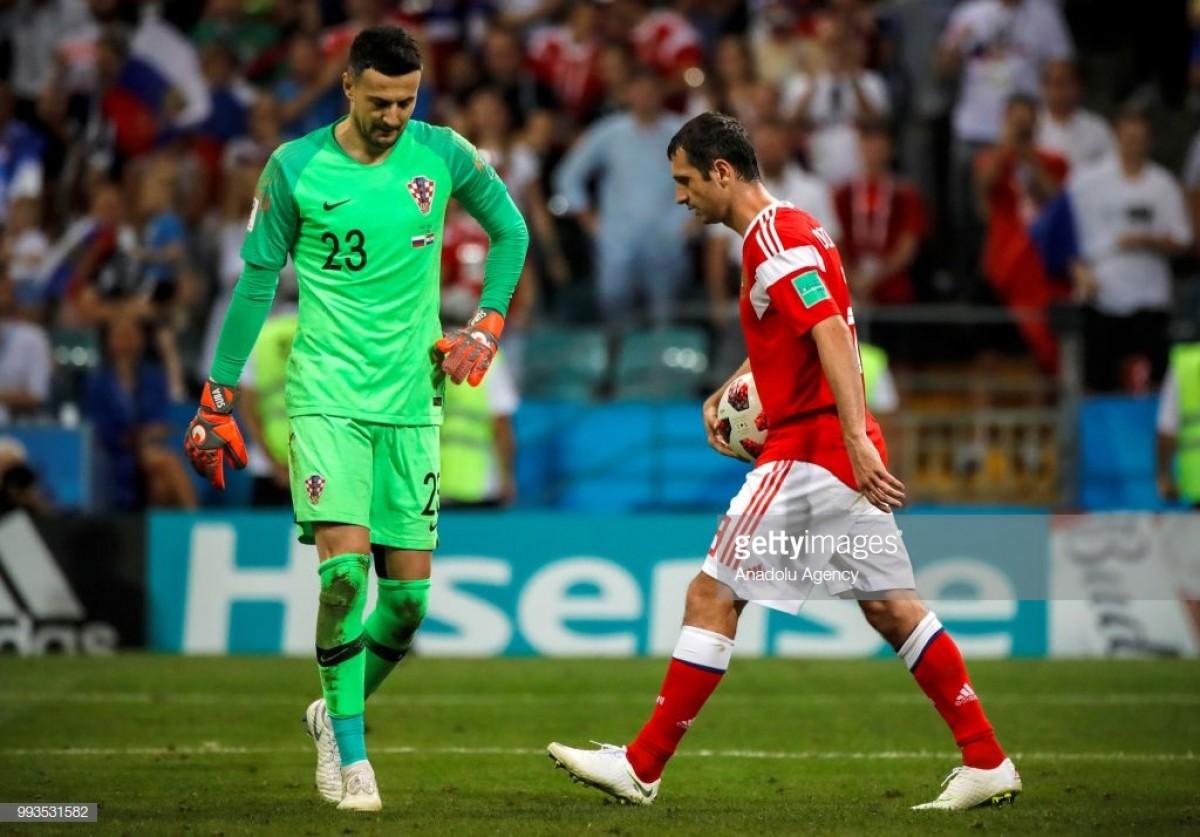Penáltis colocam a Croácia nas meias e terminam com o sonho russo
