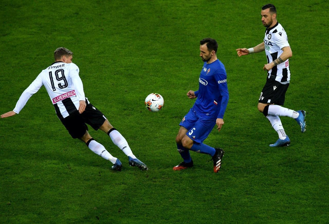 Serie A - Poche emozioni a Udine: 0-0 tra Udinese e Fiorentina