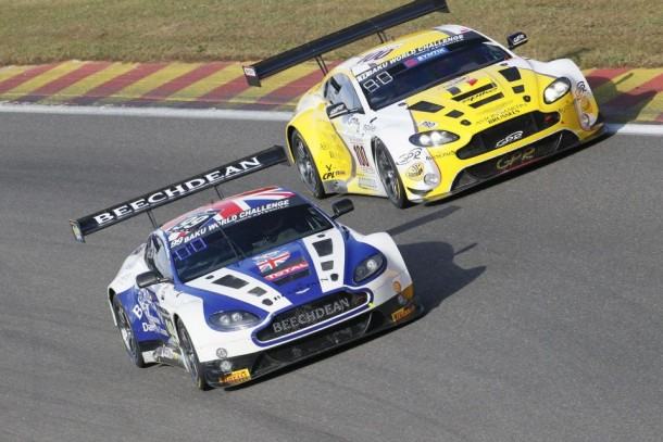 24h de Spa : Aston Martin arrache la pole position !