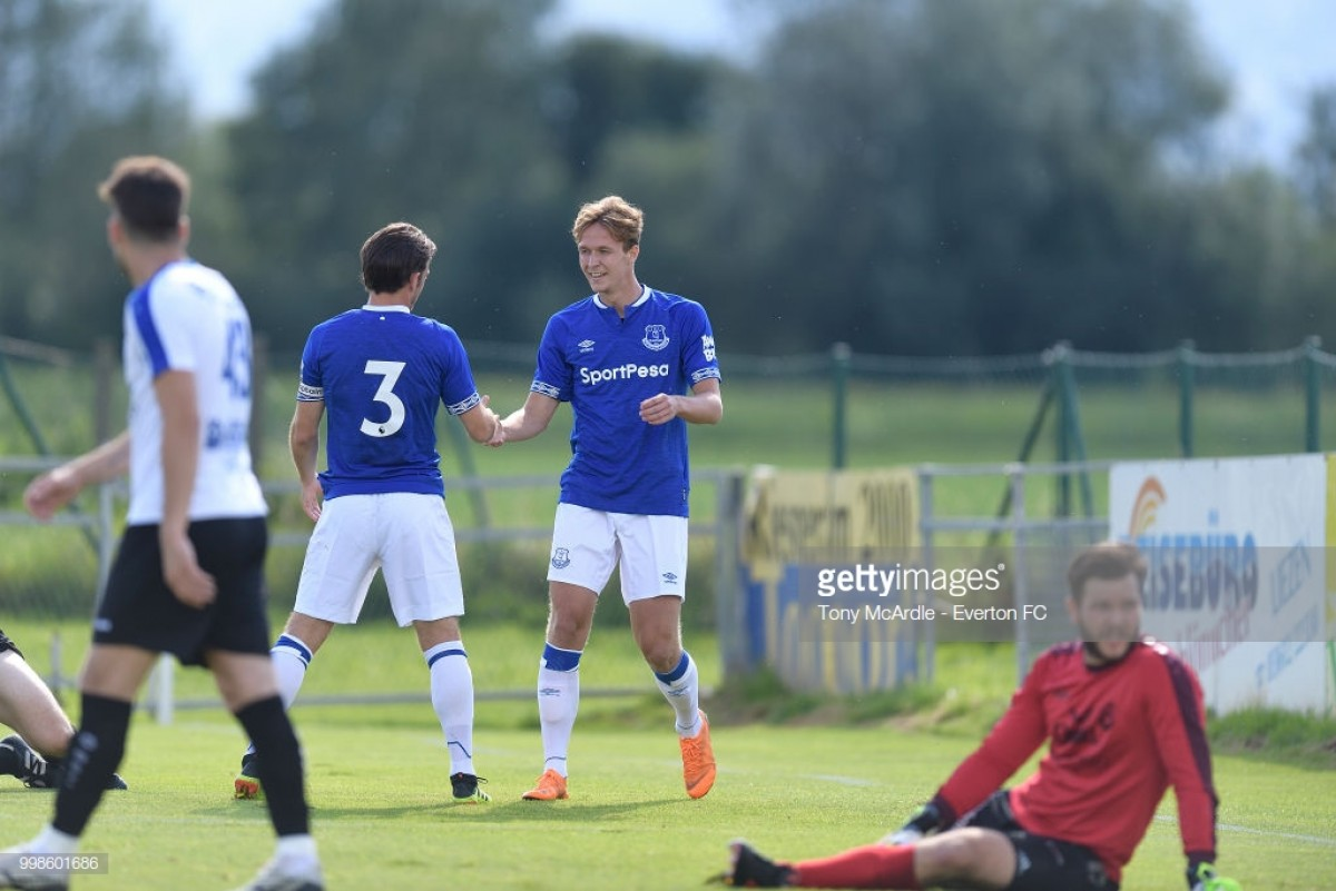 ATV Irdning 0-22 Everton: Silva's Blues kick off pre-season in record goal-scoring fashion