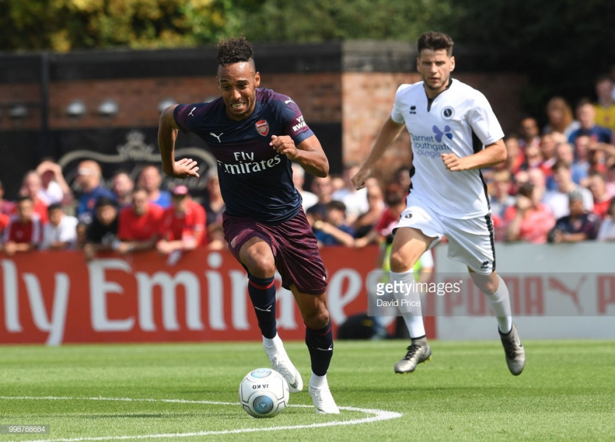 Pierre-Emerick Aubameyang: We're working hard every day to improve