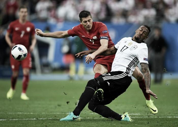 Em jogo disputado, Alemanha e Polônia ficam no zero e dividem a liderança do grupo C