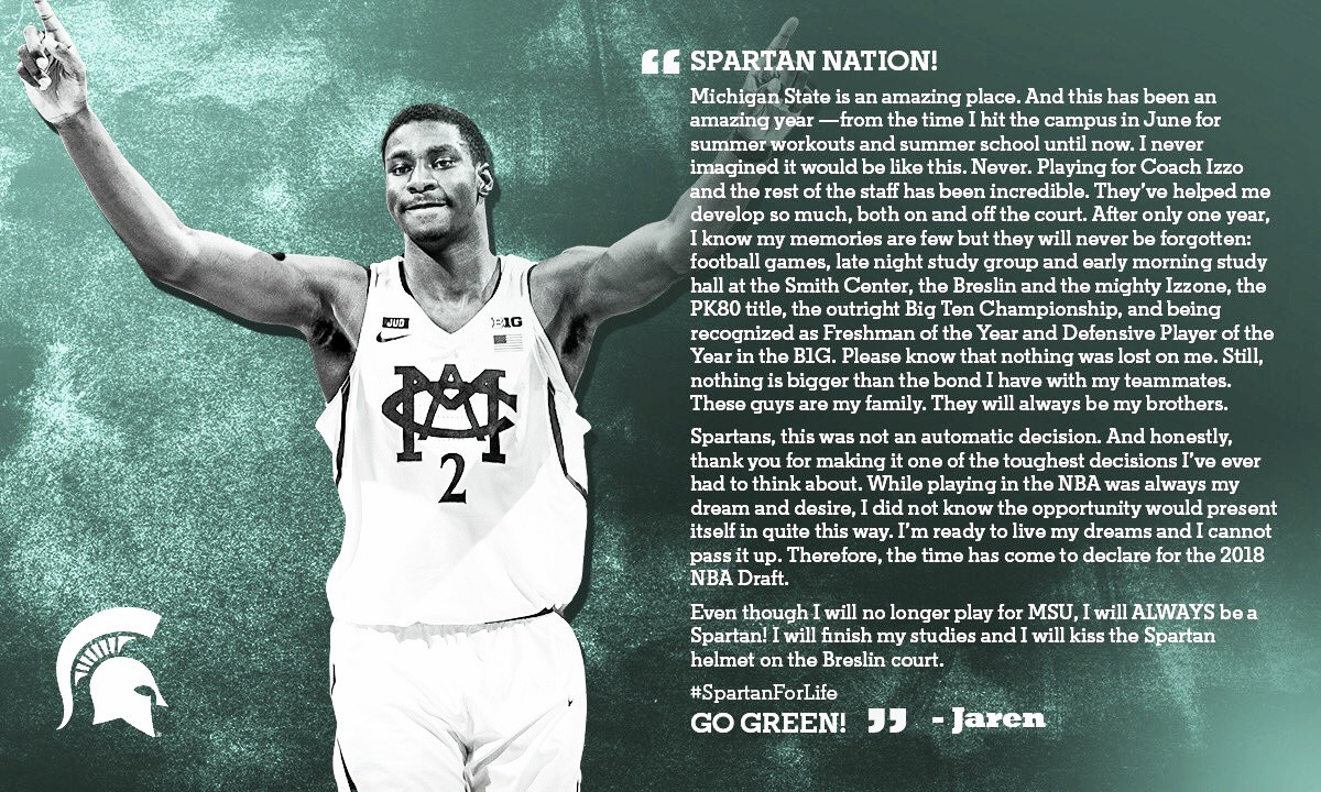Jaren Jackson Jr, elegible para el draft 2018