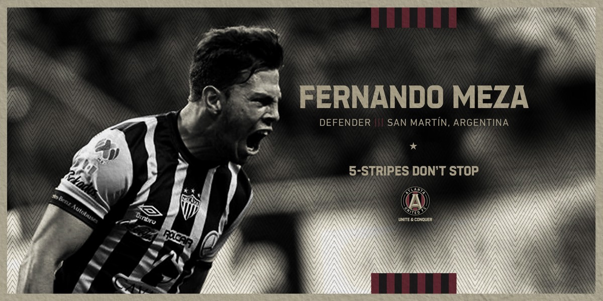 Fernando Meza firma por Atlanta United FC
