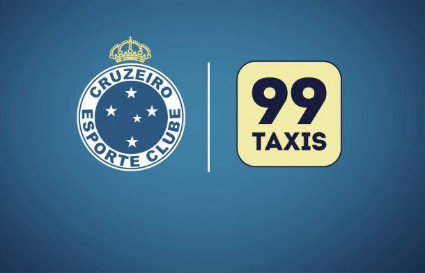 Cruzeiro anuncia acerto com empresa 99Taxis para restante da temporada