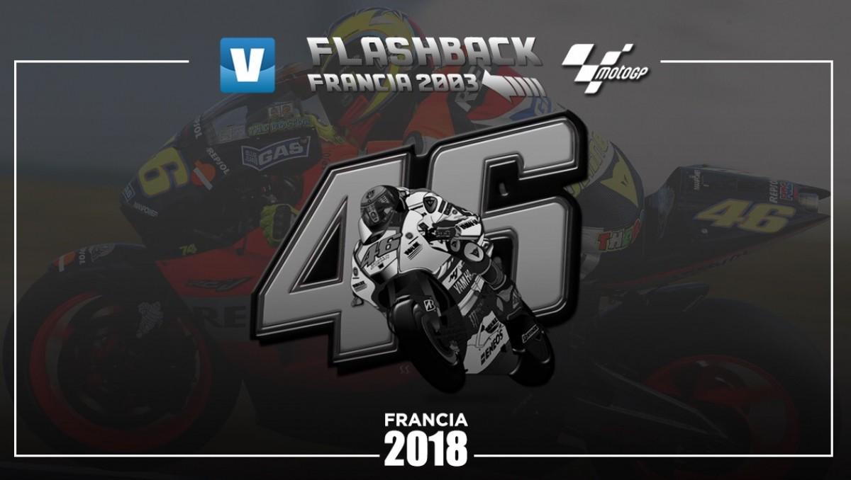 Flashback GP Francia 2003: día histórico para el motociclismo español