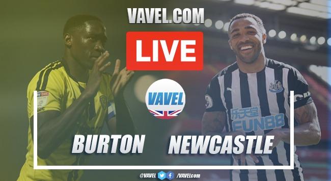 Goals and Highlights: Burton Albion 0-2 Newcastle United in Pre-Season Friendly Match 2021