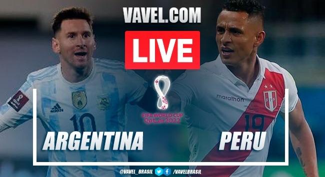 Gol e Melhores Momentos de Argentina x Peru (1-0)