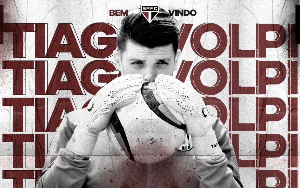 São Paulo anuncia contratação do goleiro Tiago Volpi