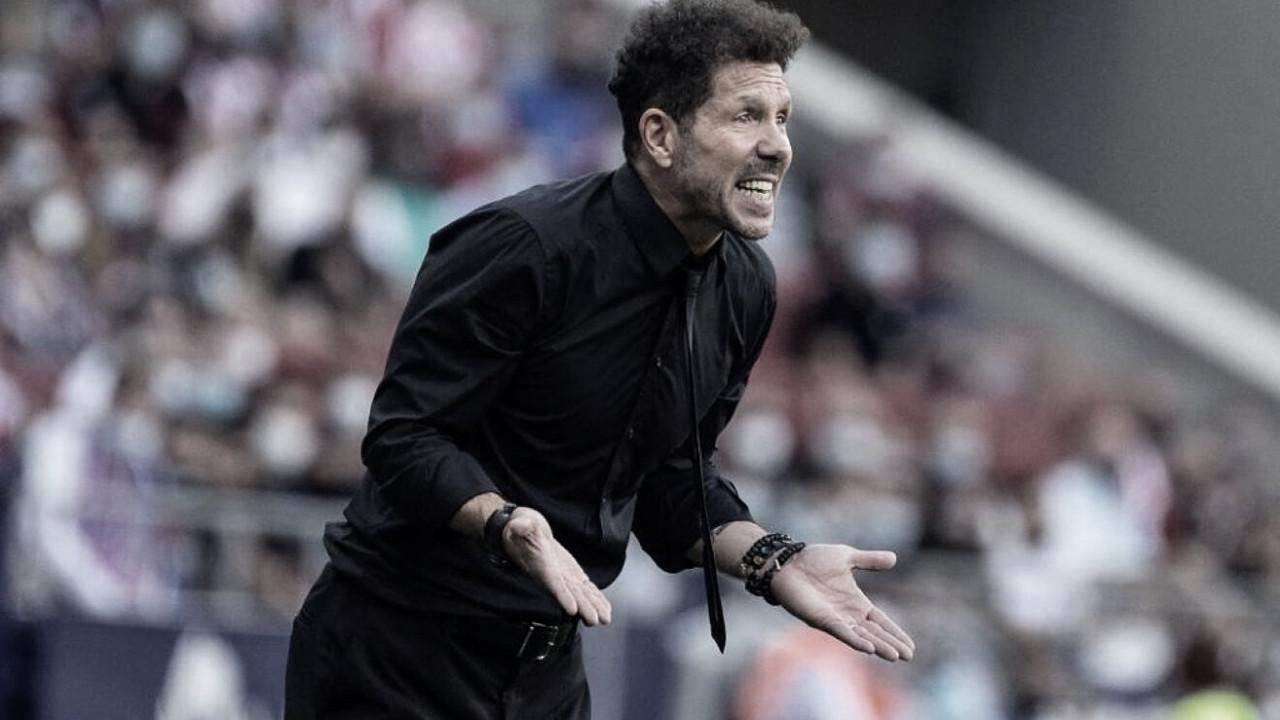 """Simeone: """"Si lo de Joao lo hace otro jugador, posiblemente no sea roja"""""""